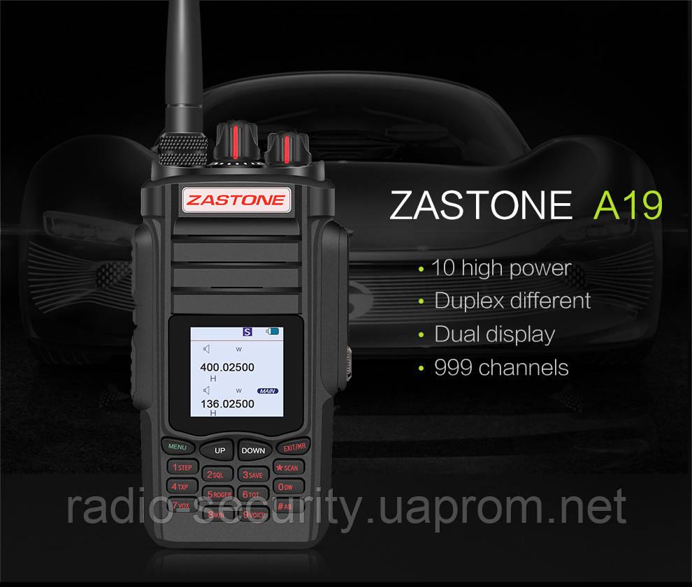 Радіостанція портативна ZASTONE ZT-A19