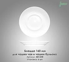 Блюдце 160 мм для чашки чаю та чашки бульйону в/сорт Farn 8013HR