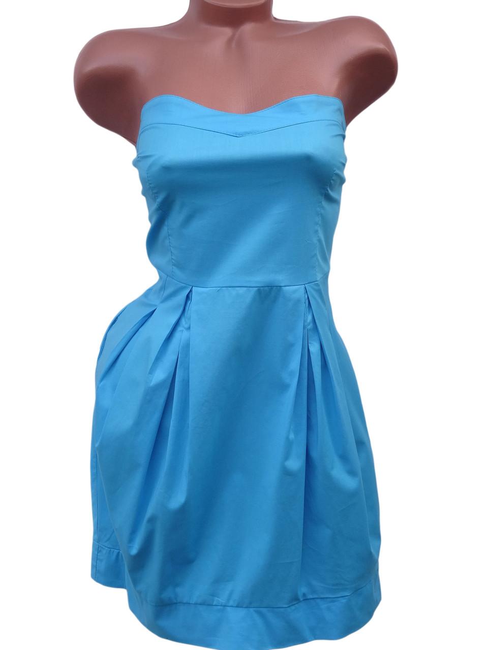 Стильное летнее платье-топ (в расцветках 42-46)