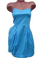 Стильное летнее платье-топ (в расцветках 42-46), фото 1