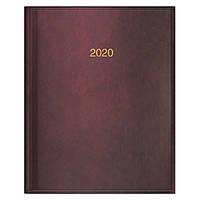 Еженедельник датированный 2020 BRUNNEN MIRADUR Бюро 21х26 см бордовый