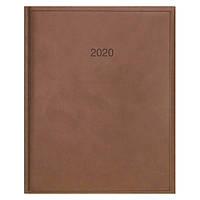 Еженедельник датированный 2020 BRUNNEN Torino Бюро 21х26 см коричневый