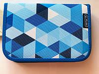 Пенал Herlitz Cubes Blue Кубики 31 предмет