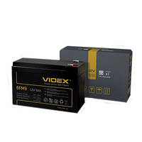 Аккумуляторная батарея Videx 12V - 9Ah 6FM9 свинцово-кислотный