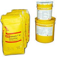 Самовирівнюючий цементно-епоксидний розчин для підливки та анкерування Sikadur - 42 (A+B+C)