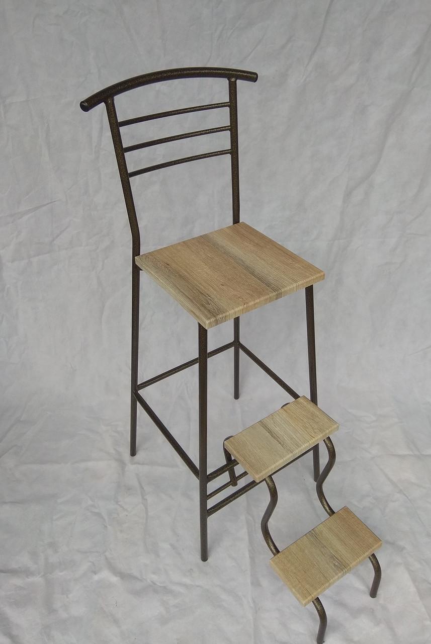 Барный стул с лестницей производство Украина