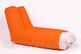 Надувной шезлонг ламзак Air-plum Stan Оранжевый