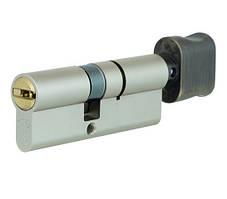 Цилиндр Mul-t-Lock Integrator 120 мм. (60х60Т) с поворотником античная бронза