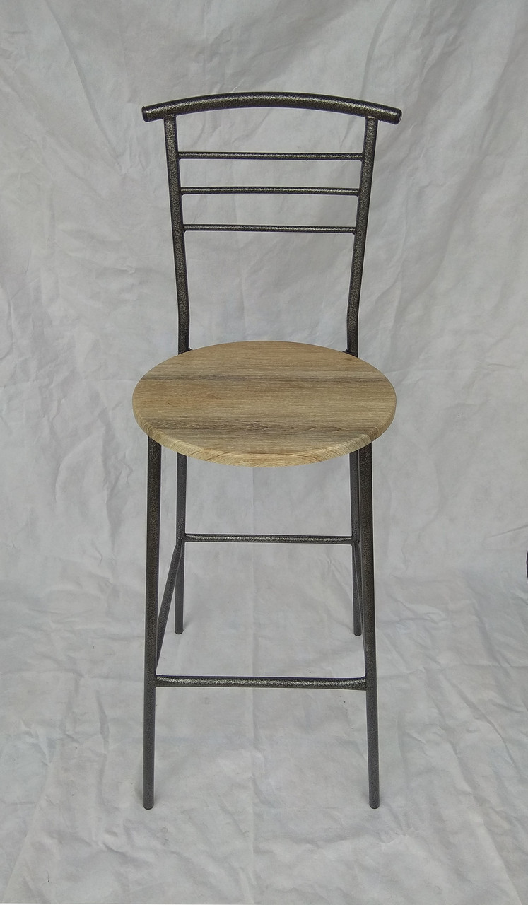 Барный стул H-73 см дуб сонома