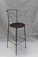 Барные круглые стулья с круглой сидушкой