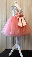 Стильное нарядное платье для малышки