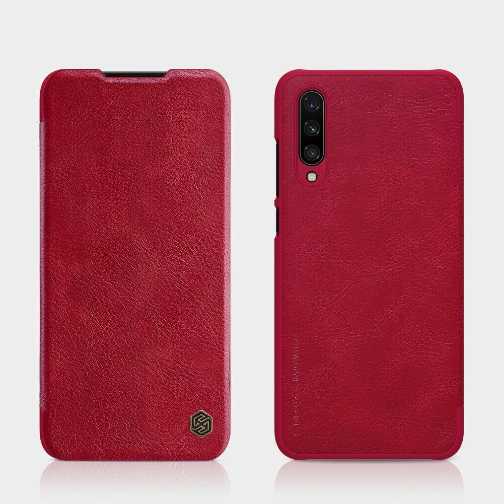 Nillkin Xiaomi Mi A3/ Mi CC9e Qin leather Red case Кожаный Чехол Книжка