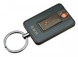 Спиральная электрическая USB зажигалка UKC 811 BMW черный, фото 2