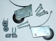 Набір роликів для розсувної системи на 1 двері