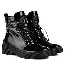 Ботинки женские MEEGOCOMFORT (черные, натуральные, качественные)