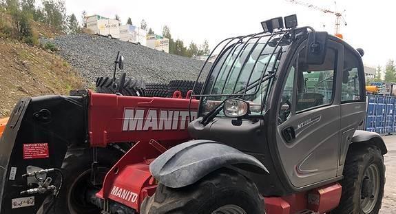 Трактор Manitou MT 8351, 2014 г.в.