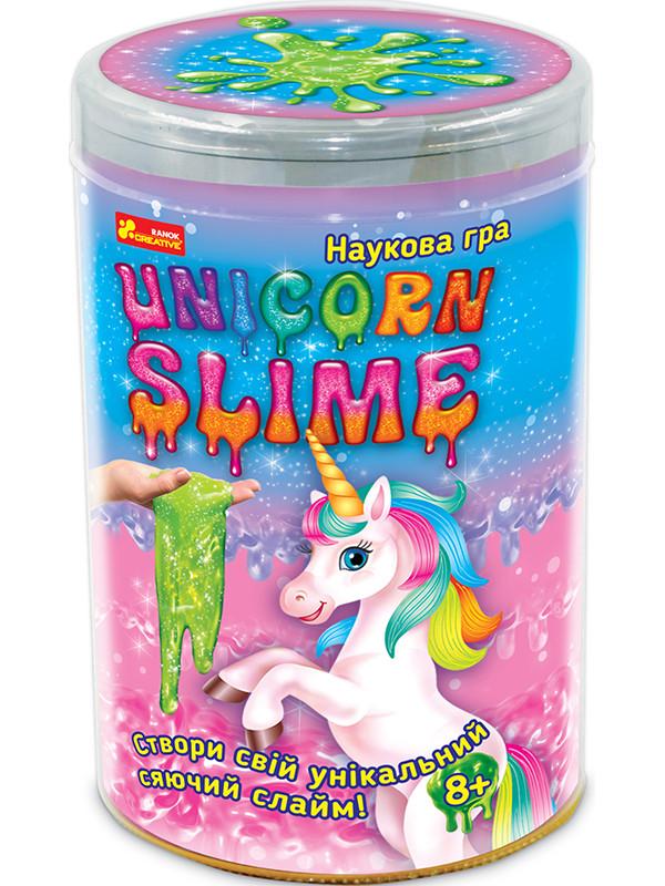 Научная игра Cristal Unicorn slime Единорог  Слайм