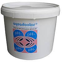 Средство для понижения уровня PH воды бассейна  AquaDoctor pH Minus 5кг