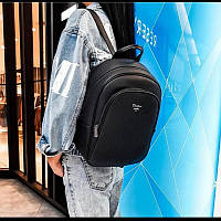 Рюкзак женский черного цвета DAVID JONES 5323