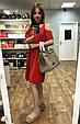 Сумка люкс репліка і гермес Біркін ЛОГО 35см / натуральна шкіра Чорний, фото 3