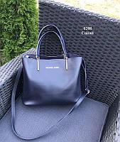 Женская сумка из экокожи в стиле Michael Kors Синий