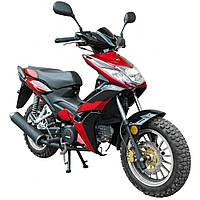 Мотоцикл SP125C-4WQ красный