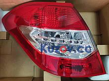 Задний фонарь Citroen C4 11- левый (Depo) 6350KS