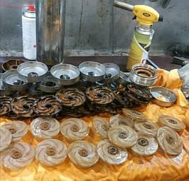За все время отремантировано более 3000 насосов . Выполненные работы №2 37
