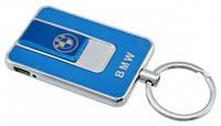 Спиральная электрическая USB зажигалка UKC 811 BMW синий, фото 1