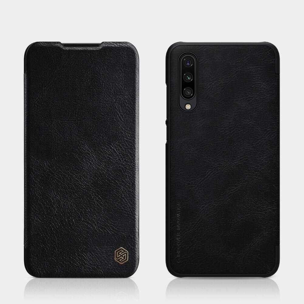 Nillkin Xiaomi Mi CC9 / Mi 9 Lite Qin leather Black case Кожаный Чехол Книжка