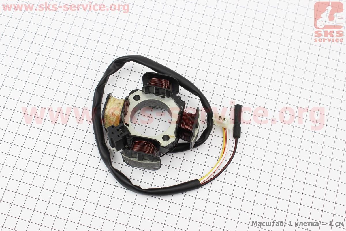 Статор магнето Suzuki AD50 (3 провода) на скутер