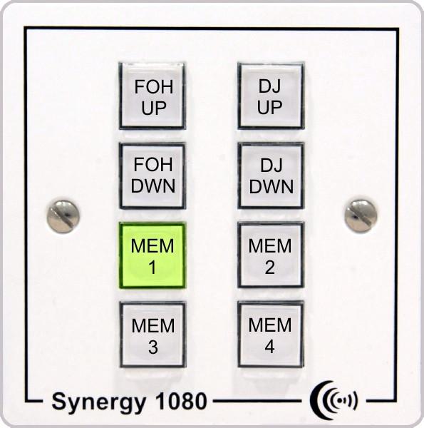 Панель удаленного управления XTA Electronics ACC-SYNERGY-485