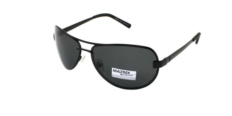 Мужские солнечные очки авиаторы Matrix Polaroid
