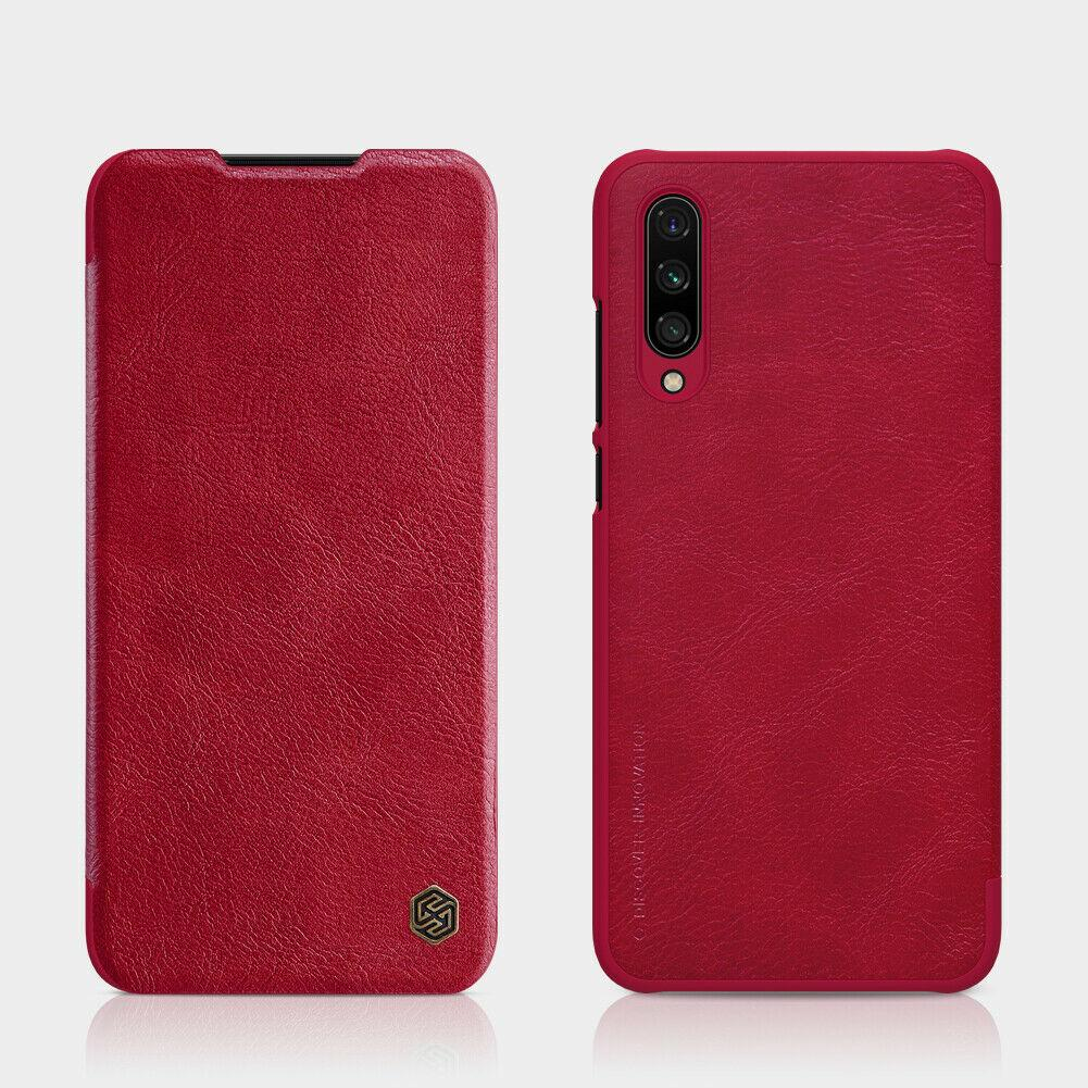 Nillkin Xiaomi Mi CC9 Qin leather Red case Кожаный Чехол Книжка