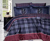 Постельное белье First Choice 200х220 сатин люкс Doris lacivert