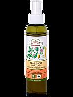Травяной настой против выпадения волос Лопух большой и протеины пшеницы 150мл Зеленая Аптека