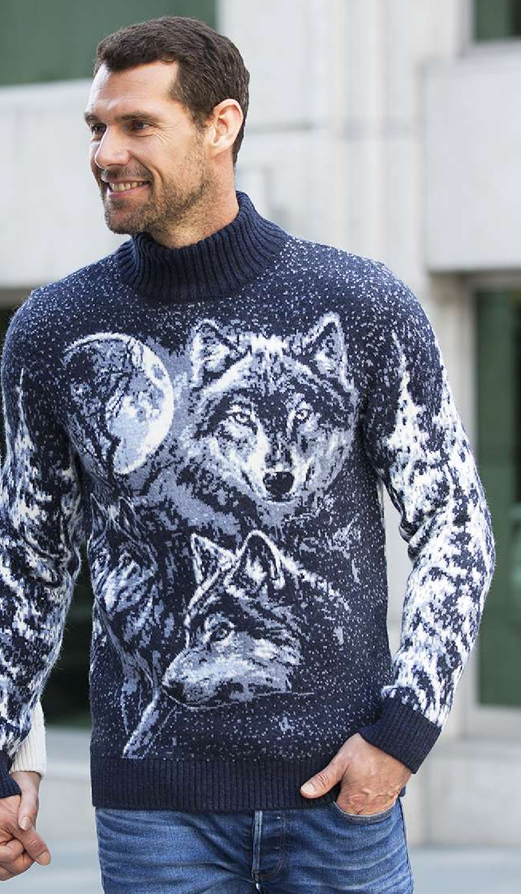 Свитер мужской Pulltonic Волки