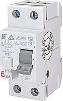 Дифференциальное реле ETI (УЗО) EFI-2 2P 16A 30mA 10kA AC (2062121)