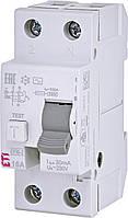 Дифференциальное реле ETI (УЗО) EFI-2 2P 16A 30mA 6kA AC (2062131)