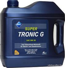 Моторное масло Aral SuperTronic G sae 0w30 4л