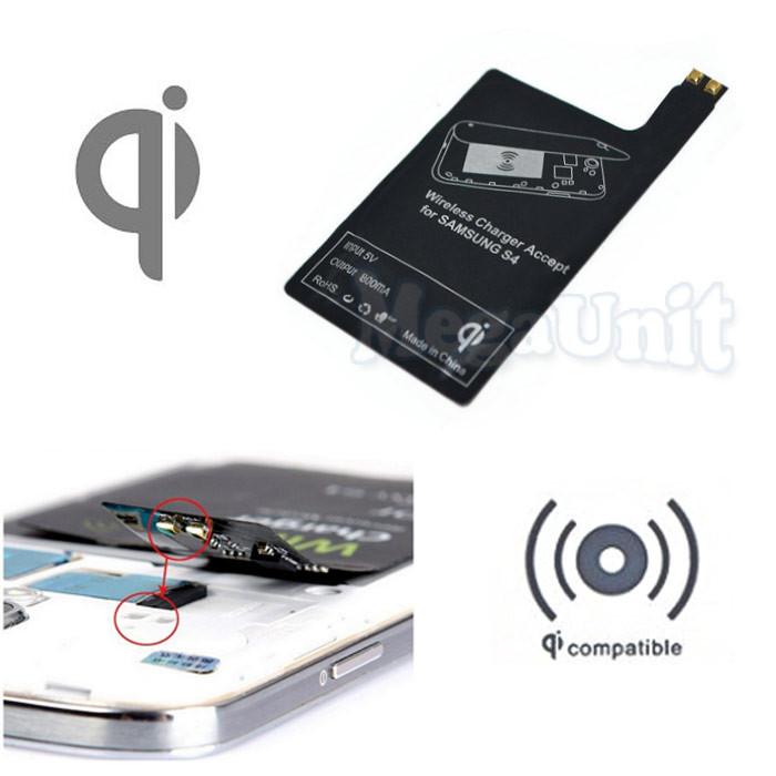 QI модуль приемник Samsung Galaxy S4 i9500 для беспроводной зарядки