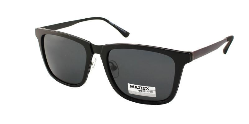 Трендовые мужские очки от солнца Matrix Polaroid