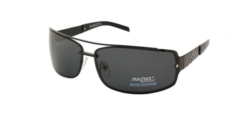 Очки мужские солнечные спортивной формы Matrix Polaroid