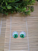 Глазки Прикольные, зеленые, 25 мм, фото 1