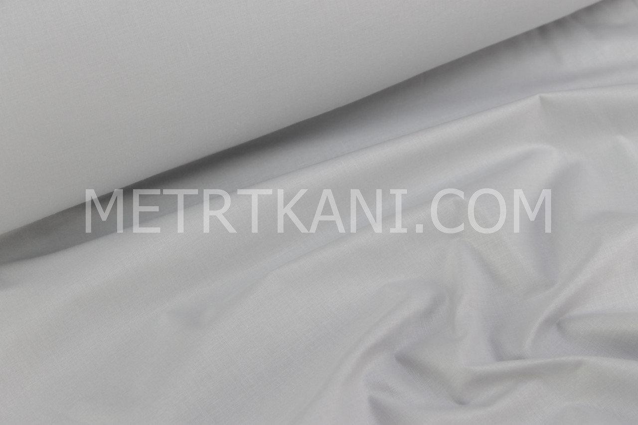 Польська бязь,бавовна світло-сірого кольору 125г/м2 №408