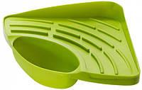 Кухонный органайзер для раковины, зеленый, Сушки и органайзеры для посуды, Сушіння і органайзери для посуду, Кухонний органайзер для раковини, зелений