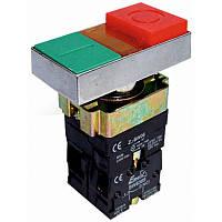 Кнопка  PB2-ВW8365 двійна з LED подсвіткою (червона, зелена)  Ø22mm  NO + NC  ElectrO (шт.)