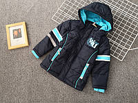 Куртка на флисе для мальчика осень-весна Topolino 110 см, 116 см, 122 см