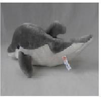 Интерактивное мягкое животное 7586  Дельфин,чип на русс.рассказ о животном, в пакете 22см