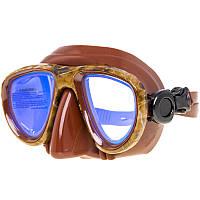 Маска с просветлёнными стёклами Marlin Camo brown, фото 1